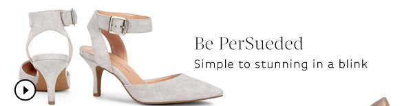 Be PerSueded. Shop Olyvia