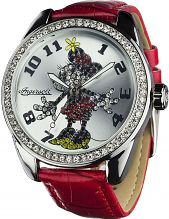 Ladies' Disney by Ingersoll Classic Diamante Minnie Mouse