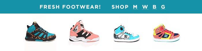 Footwear Fresh!