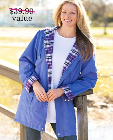 Exclusive Offer FREE All-weather Anorak with any order of $25 or more. Use promo code WW03676. Expires 3/31/14