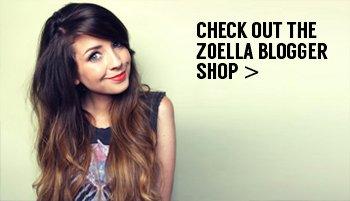 zoella blogger shop