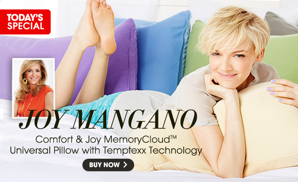 Comfort & Joy® MemoryCloud™ Warm & Cool Universal Pillow