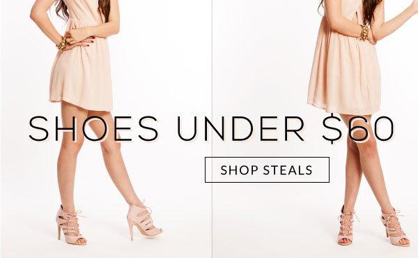 Shop Shoes Under $60