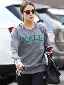 """Sub_urban Riot Kale Sweatshirt in Grey as seen on Beyonce, Nikki Reed and Rachel McAdams"""
