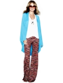 Michael Lauren Derby Wide Leg Pant in Multi