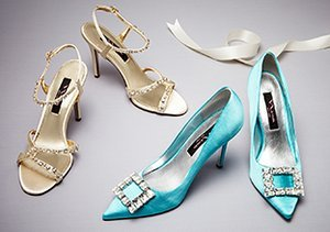 The Wedding Party: Evening Shoes
