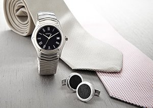The Wedding Party: Ties, Watches & More