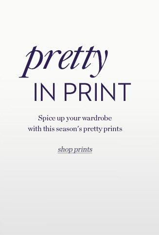 Pretty in Print | Shop Prints