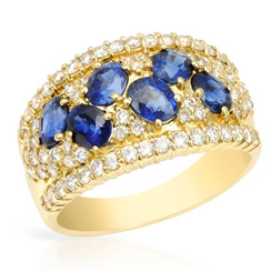 One-of-a-Kind Handmade Rings in 18k Gold & Platinum