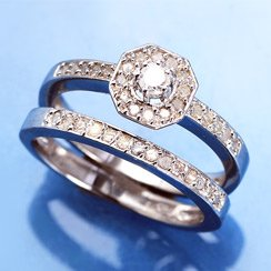 Sparkle & Shine: Diamond Rings From $25