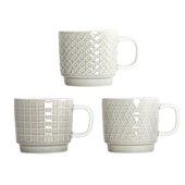 Symetric Coffee Cup 3pcs