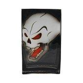Skull Vase, Black