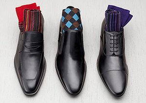 The Wedding Party: Dress Shoes & Socks