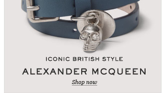 Iconic British Style: Alexander McQueen. Shop now