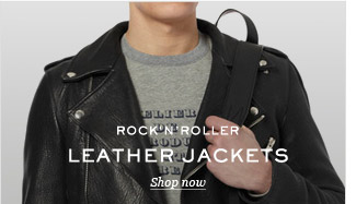 Rock'N'Roller: Leather Jackets. Shop now