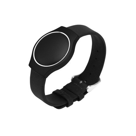 Misfit Shine Activity Monitor & Leather Band // Jet Black
