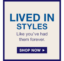 LIVED IN STYLES | SHOP NOW