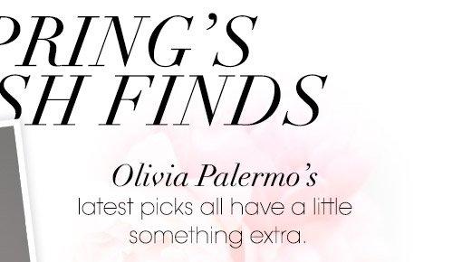 Olivia Palermo's latest picks