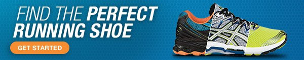 Find the Perfect Running Shoe - Promo Shoe Finder