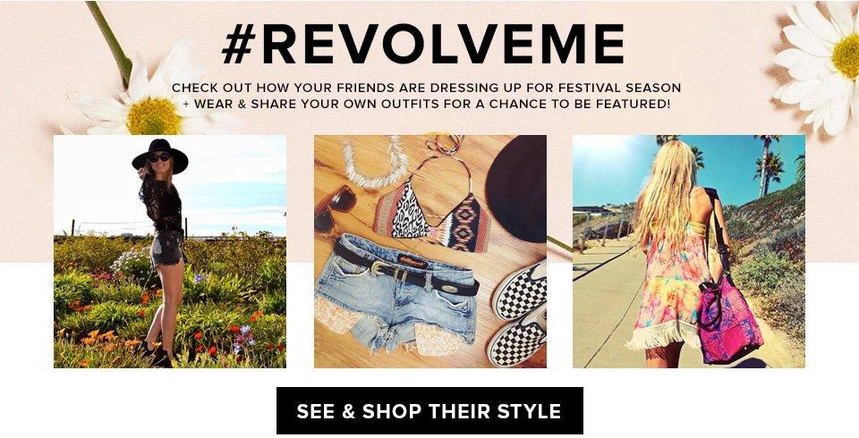 #REVOLVEme