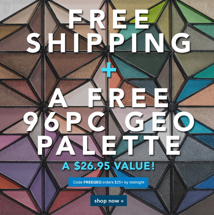 Free Shipping + A $26.95 Value Code: FREEGO Shop Now!