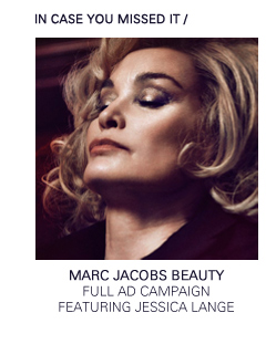 Marc Jacobs Beauty | Jessica Lange Full Ad Campaign