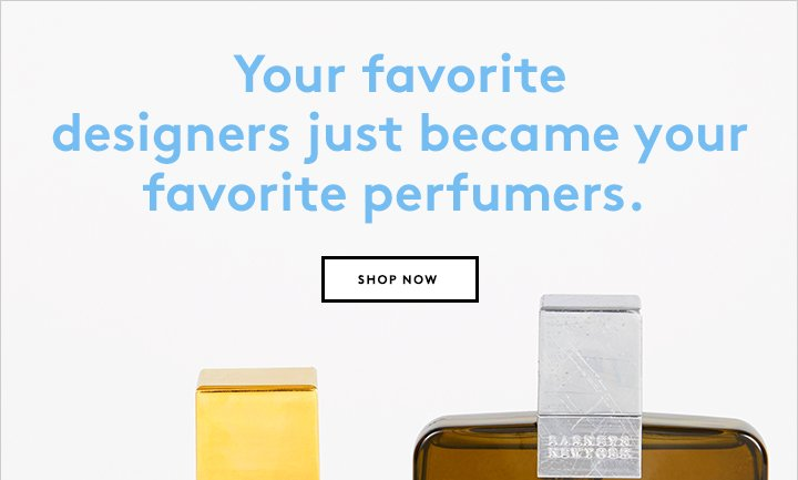 Need a new scent? Shop the Irene Neuwirth and Greg Lauren fragrances now.