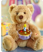 Happy Birthday Animated Bear by Gund® Shop Now