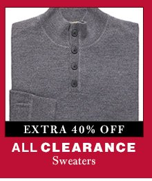 Clearance Sweaters - extra 40% Off