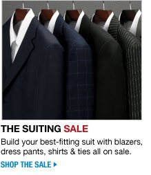 the suiting sale - shop the sale