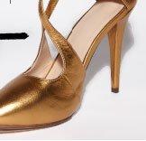 Shutter Bug cut out heel