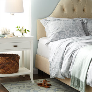 Soft-Hued Bedding & More