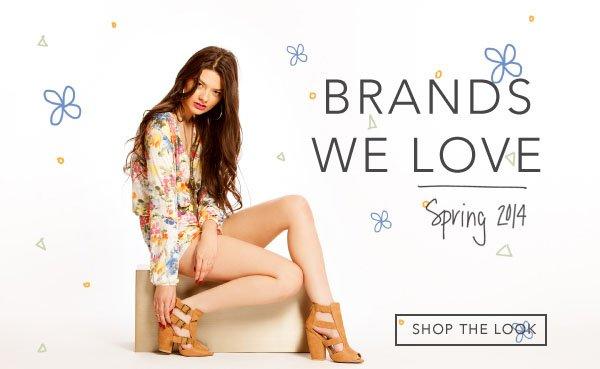 View the Brands We Love Lookbook