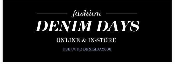 Fashion Denim Days