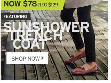 Shop Women's Sunshower Trench Coat