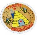 Thanks A Buzz-illion Cookie Cake