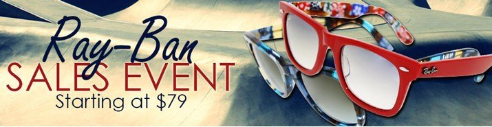 Save up to 46% during the Ray-Ban sunglasses sales event