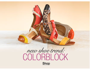 new shoe trend: colorblock