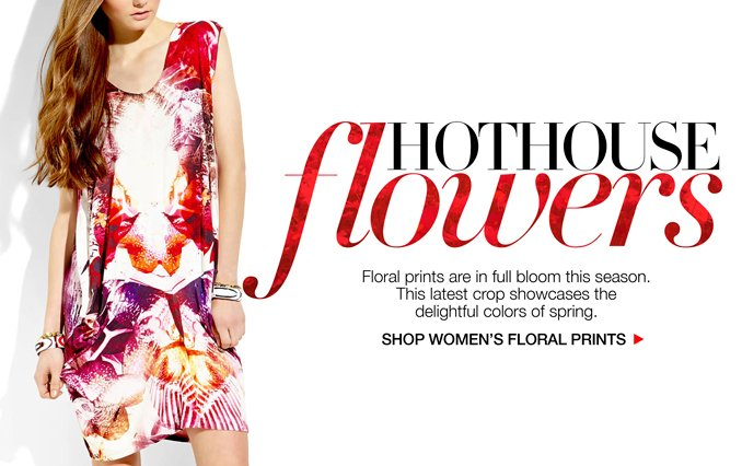 Shop Floral Prints - Ladies