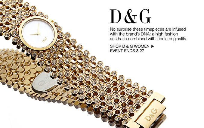 Shop Shop D&G- Watches - Ladies