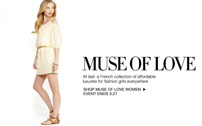 Shop Muse of Love - Ladies
