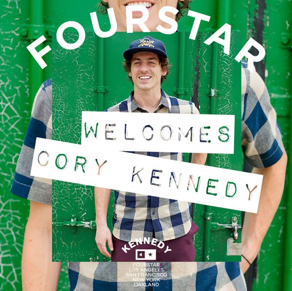 Welcome Cory Kennedy