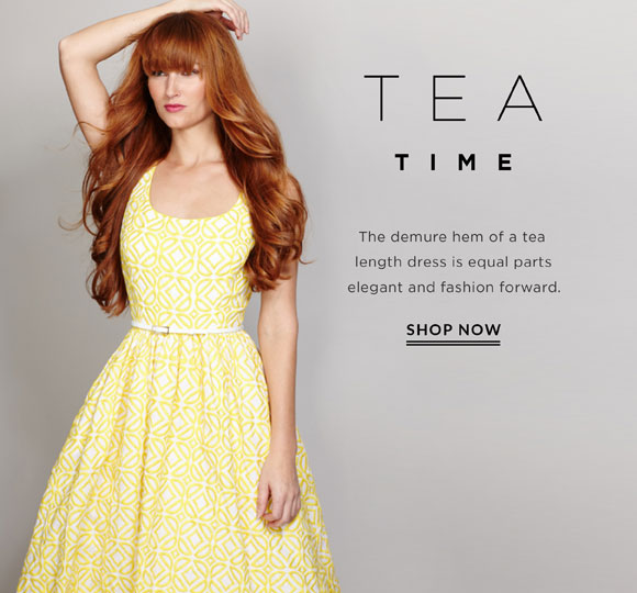 On Trend: Tea Time