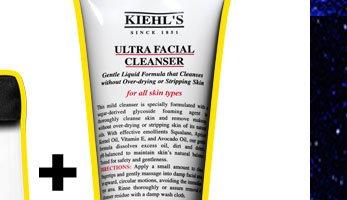 FULL-SIZE CLEANSER   KIEHL'S SINCE 1851   ULTRA FACIAL CLEANSER   5.0fl. oz - 150ml