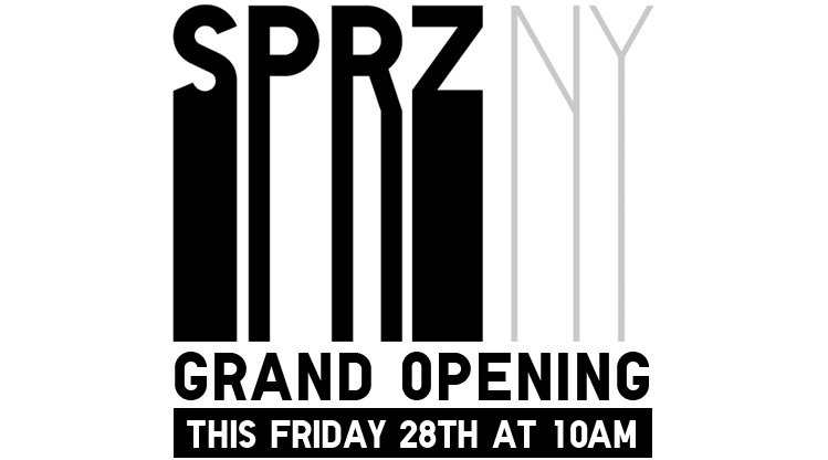 SPRZNY GRAND OPENING ON THIS FRIDAY 28TH AT 10AM