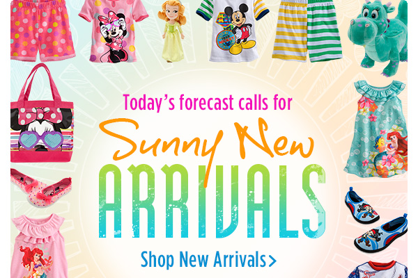 Today's forecast calls for Sunny New Arrivals | Shop New Arrivals