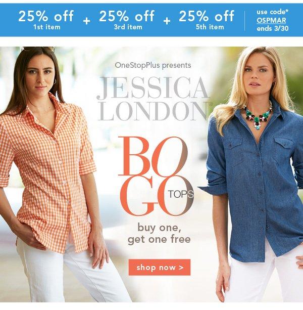 Shop Jessica London BOGO Tops