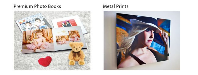 Photo Books & Metal Prints