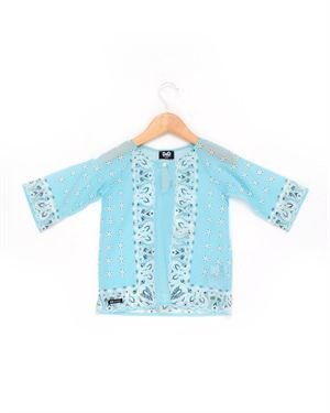 D&G Junior Infant Girls' Paisley Cotton Dress - Made in Europe