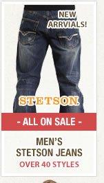 Mens Stetson Jeans